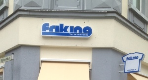 Friking  - a questionable name choice and an similalrly questionable slogan (c) Tina Baumgartner