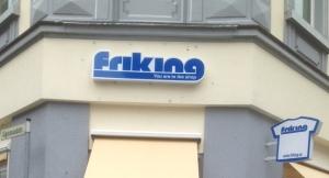 Friking  - a questionable name choice and an similalrly questionable slogan (c) Tina Baumgartner